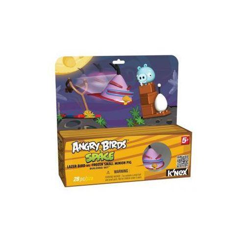 72433 Klocki K'nex Angry Birds Space, Ptak Lazer i Zamrożona Mała Świnia Minion