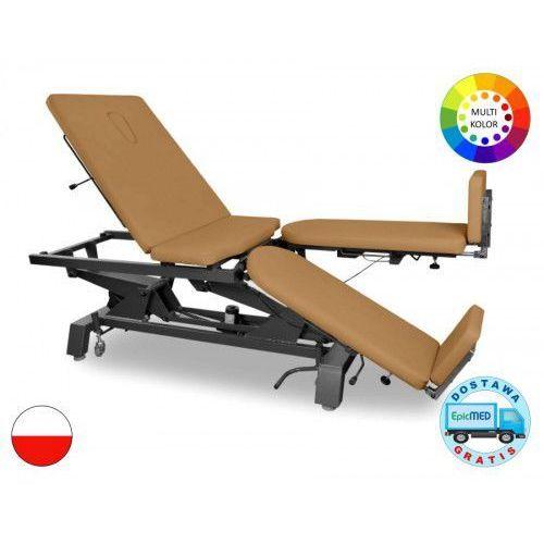 Stół rehabilitacyjny KSR-4E z elektryczną regulacją wysokości oraz funkcją fotela