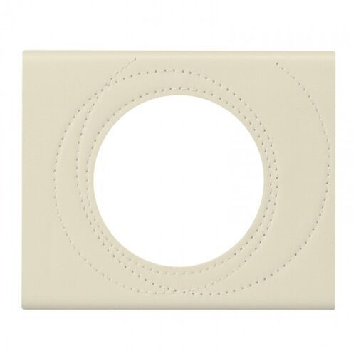 Ramka pojedyncza Legrand Celiane 069431 skóra perła (3414970450951)