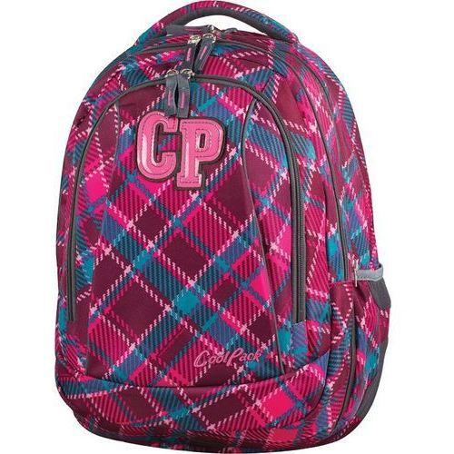 Patio Coolpack plecak młodzieżowy 2w1 combo cranberry check 2017 (5907690877095)