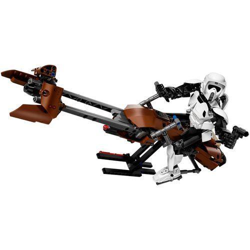 Lego STAR WARS Zwiadowca el.rmowców i jego śmigacz scout trooper & speeder bike 75532