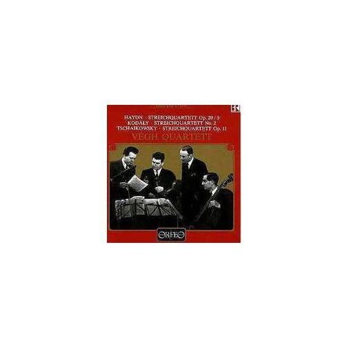 Haydn j / kodaly z - streichq. op. 20 / 3 / no. 2 & op. 11 wyprodukowany przez Orfeo