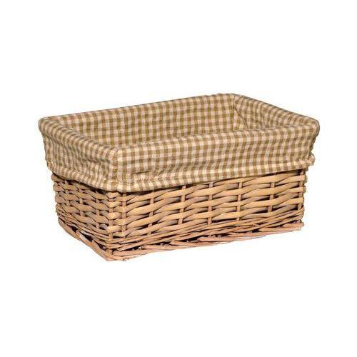 Koszyk na akcesoria łazienkowe PROSTOKĄTNY WIKLINOWY dł.27 BA-DE (5907582143468)