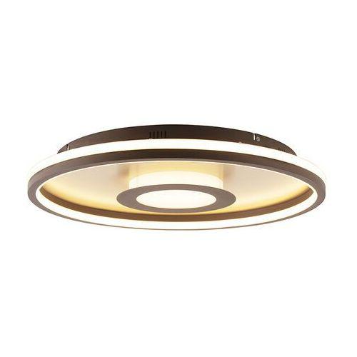 Lampa sufitowa złota 59 cm wraz z diodą led z pilotem - oculus marki Honsel