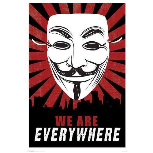 V for Vendetta - Jesteśmy Wszędzie - plakat - sprawdź w wybranym sklepie