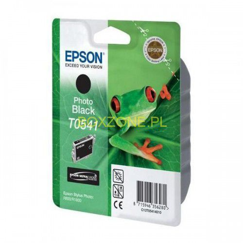 Epson oryginalny ink C13T054140, photo black, 550s, 13ml, Epson Stylus Photo R800, R1800