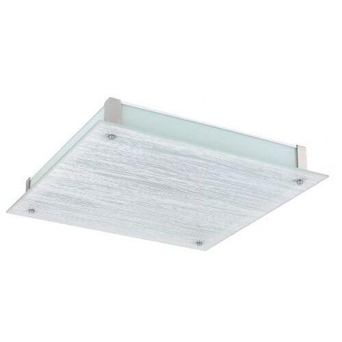 Plafon Rabalux Dustin 3037 lampa sufitowa 1x36W LED biały / chrom (5998250330372)