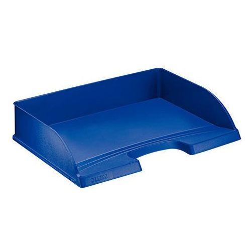 Półka na dokumenty Leitz Plus niebieska długi bok