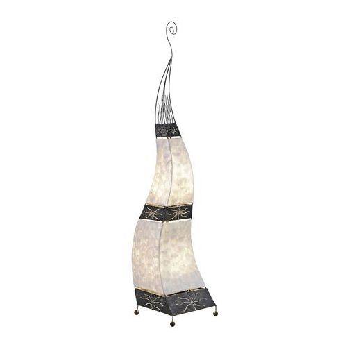Paul neuhaus abuja lampa stojąca czarny, biały, 2-punktowe - design - obszar wewnętrzny - abuja - czas dostawy: od 2-4 dni roboczych (4012248284117)