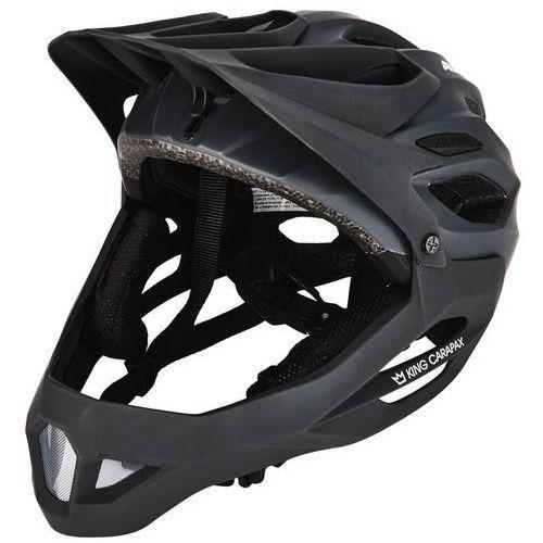 Alpina king carapax fullface kask rowerowy czarny 57-62 cm 2018 kaski rowerowe