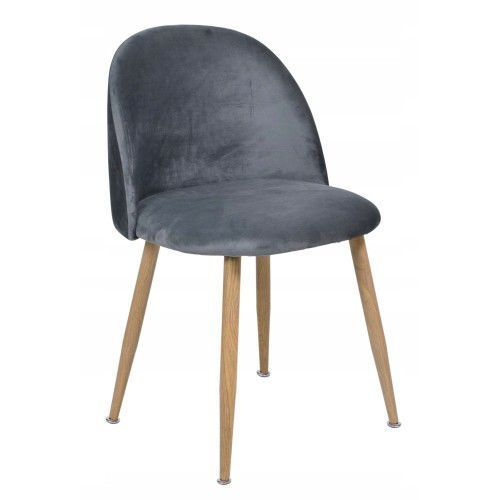 Krzeslaihokery Krzesło moon szare