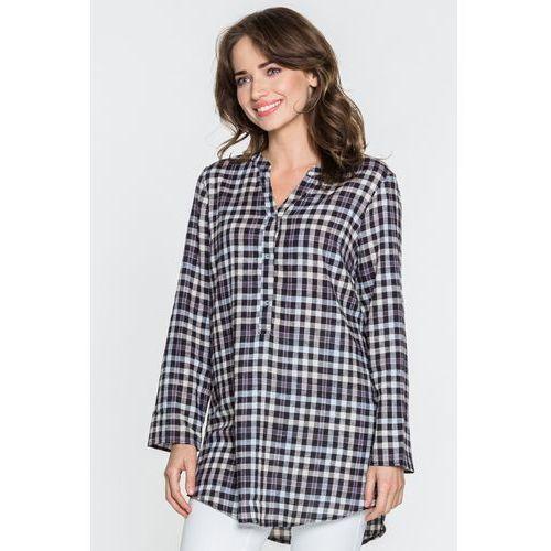 Bluzka w czarno-białą kratę - marki Studio mody pdb