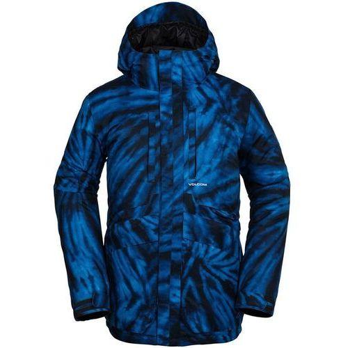 Volcom Kurtka - fifty fifty ins jkt blue tie-dye (btd) rozmiar: m