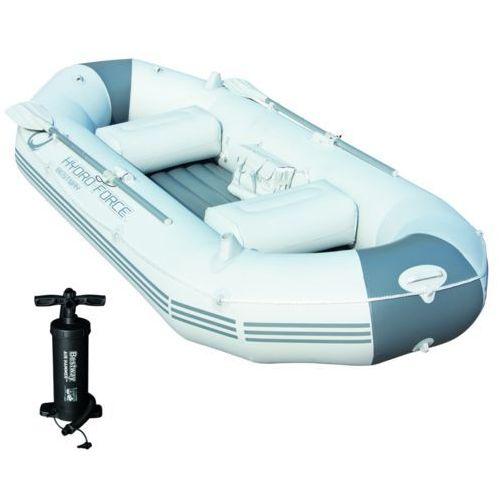 Bestway Marine Pro dmuchany ponton z pompką i wiosłami 291 cm 65044