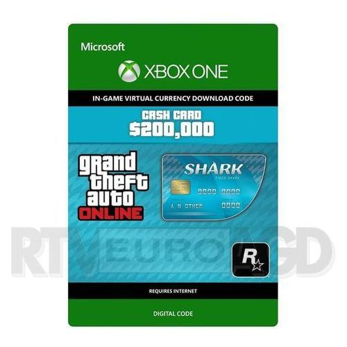 Microsoft Grand theft auto v - karta gotówkowa tiger shark [kod aktywacyjny] (0000006200483)