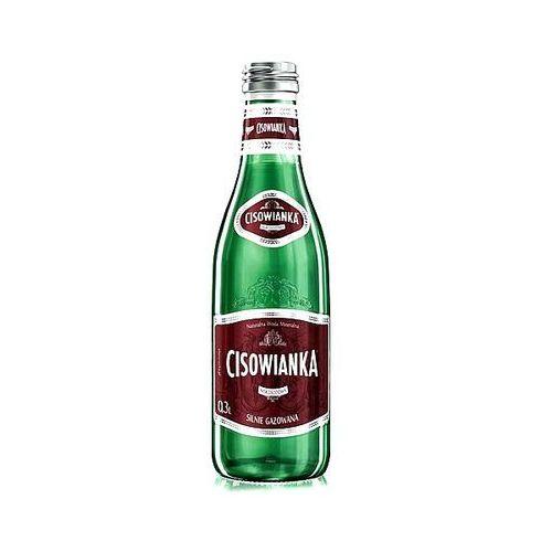 Woda silnie gazowana 0,3l szkło marki Cisowianka