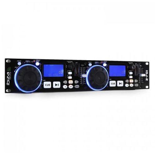 IDJ2 podwójny kontroler DJ USB/SD MP3 scratch