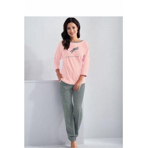 Piżama damska model molly 561 light pink marki Luna