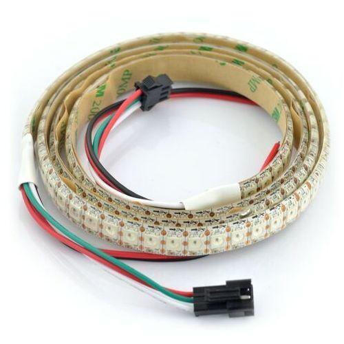Pasek LED RGB WS2812B - cyfrowy, adresowany - IP65 144 LED/m, 43,2W/m, 5V - 1m
