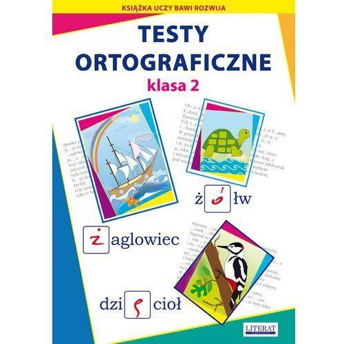 Testy ortograficzne. Klasa 2 + zakładka do książki GRATIS (opr. broszurowa)