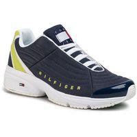 Sneakersy TOMMY JEANS - Heritage Tommy Jeans Sneaker EM0EM00441 Twilight Navy C87, kolor niebieski