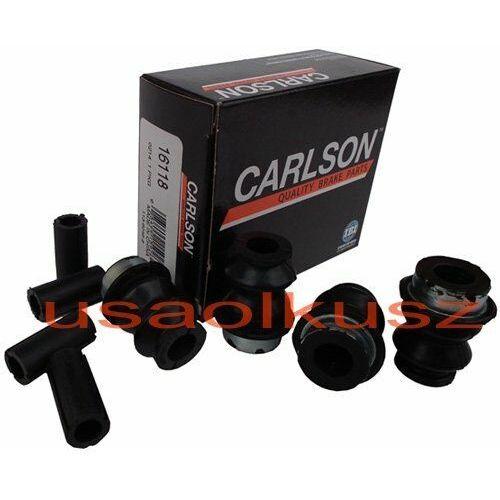 Zestaw naprawczy prowadnic przedniego zacisku hamulcowego chevrolet express 2003- marki Carlson