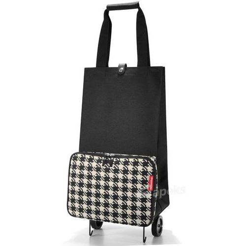 Wózek na zakupy foldabletrolley fifties black marki Reisenthel