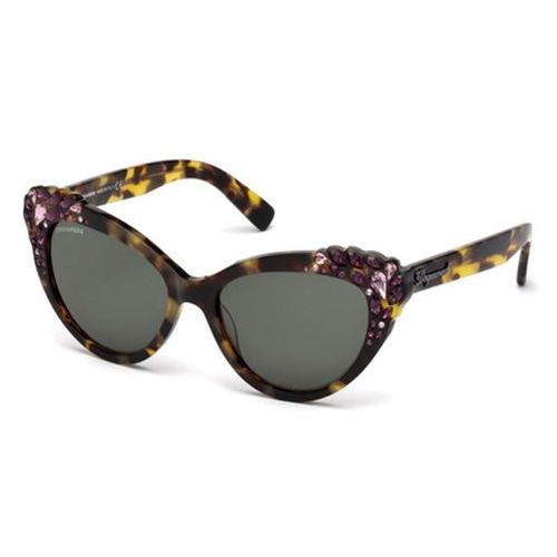 Okulary Słoneczne Dsquared2 DQ0168/S Elizabeth 55N, kolor żółty