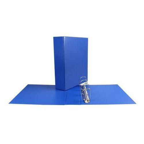 Biurfol Segregator panorama a4/55 4 ringi niebieski