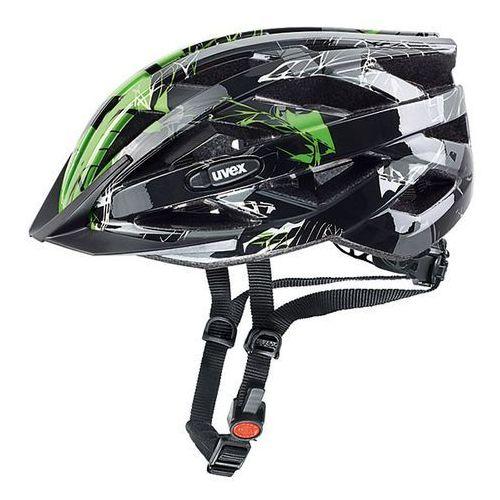 Kask rowerowy i-vo c czarny/zielony (52-57 cm) marki Uvex