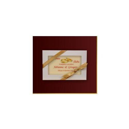 Czekoladki czekoladowe podziękowania od adrianny i grzegorza wyprodukowany przez Carmag polska