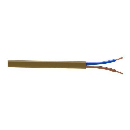 Nexans brings energy to life Kabel zasilający h03vvh2f 2 x 0,75 mm2 5 m złoty
