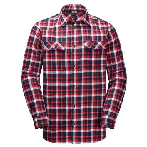 Koszula bow valley shirt - red blue checks marki Jack wolfskin