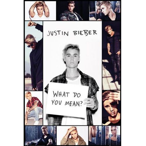 Justin Bieber What do You Mean ? - plakat (5028486343522)