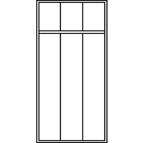 C+p möbelsysteme Szafa szatniowa evolo,z nóżkami z tworzywa, 3 przedziały, szer. przedziału 300 mm