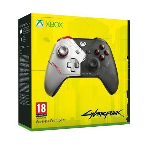 Kontroler bezprzewodowy MICROSOFT WL3-00142 Cyberpunk 2077 do Xbox One