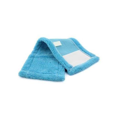 Mop płaski niebieski kieszeniowy z mikrofibry 40 cm