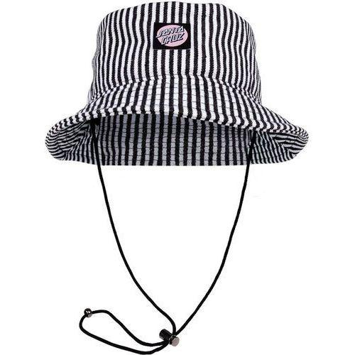 Santa cruz Kapelusz - francis bucket hat hickory stripe (hickory stripe) rozmiar: os