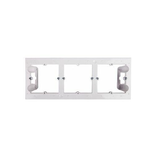 Puszka natynkowa simon 54 dpn3/11 potrójna biała marki Kontakt-simon