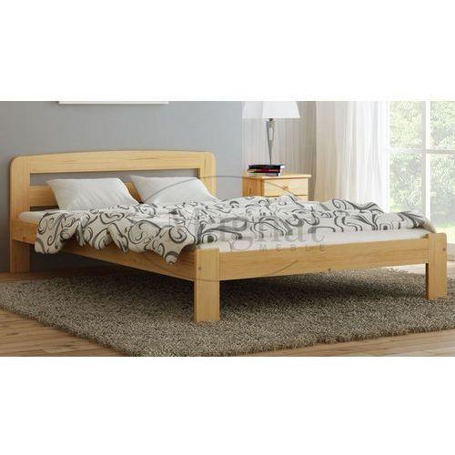 Łóżko drewniane sara 120x200 marki Magnat - producent mebli drewnianych i materacy