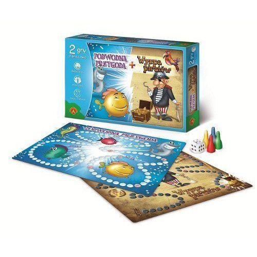 Gra - Wyspa piratów + Podwodna przygoda ALEX