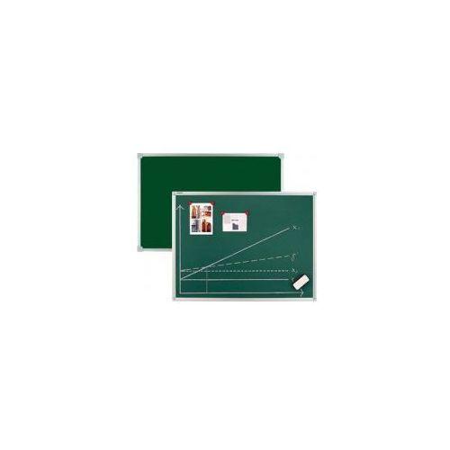 2x3 Tablica szkolna ceramiczna kredowa w ramie aluminiowej c-line 100x85