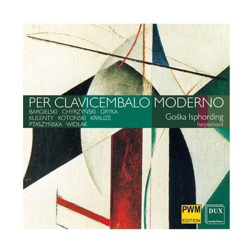 Per clavicembalo moderno (płyta cd) od producenta Dux recording producers