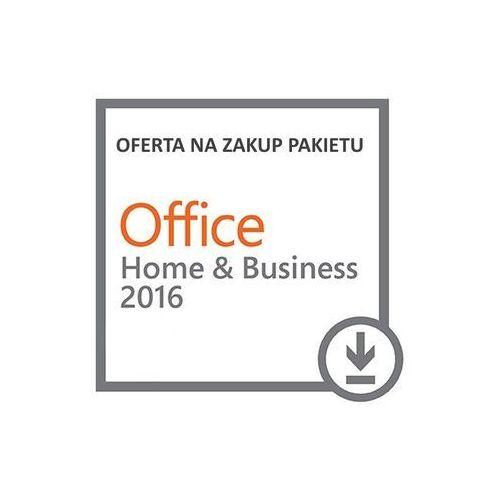 Microsoft Office Home & Business 2016 ESD PL na MAC lub WINDOWS
