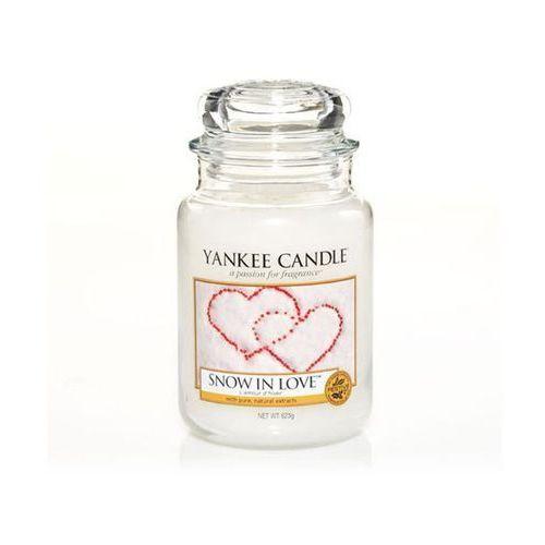 snow in love 623g duża świeca szybka wysyłka infolinia: 690-80-80-88 marki Yankee candle