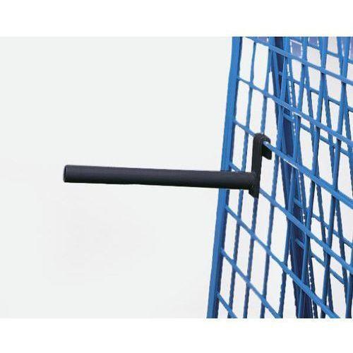 Element nośny, wsporniki rur, dł. 300 mm, w kolorze antracytowo-szarym. Łatwe za