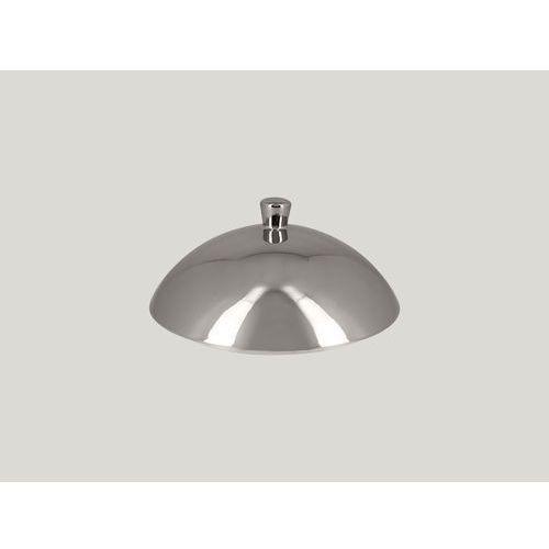 Pokrywa do talerza głębokiego gourmet 260 mm, srebrna | RAK, Metalfusion