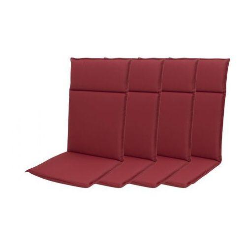 Doppler zestaw poduszek ogrodowych HIT UNI 8833 wysokie - 4 szt (9003034180954)
