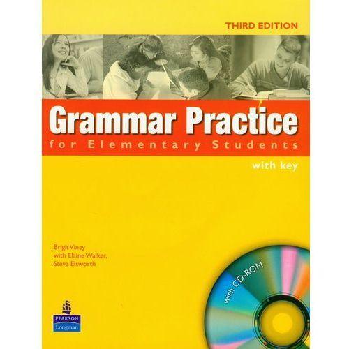 Grammar Practice Elementary - Student's Book (Key) Plus Cd-Rom (opr. miękka)