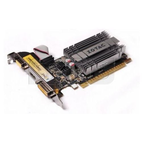 Karta graficzna Zotac GeForce GT 210 SynergyEdition, 1GB DDR3 (64 Bit), DVI, HDMI, VGA, BULK - ZT-20313-10B z kategorii Karty graficzne